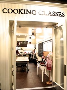 SUR LA TABLE cooking class. This will be an anniversary or birthday gift eventually