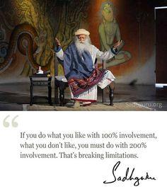 Feb quote from Sadhguru Men Quotes, Words Quotes, Qoutes, Life Quotes, Sayings, Spiritual Wisdom, Spiritual Awakening, Spiritual Meditation, Yoga Meditation