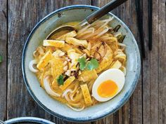 Curry Noodles With Chicken (Kuai-Tiao Kaeng Sai Kai) From 'Simple Thai Food'