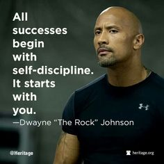 Monday Motivation from THE ROCK!