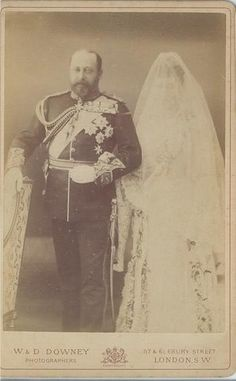 thefirstwaltz: The Prince of Wales (Later King Edward VII) with his eldest daughter, Princess Louise of Wales, on her wedding day. 27 Jul Now there's a rare photo! Reine Victoria, Victoria Reign, Queen Victoria, Royal Brides, Royal Weddings, Adele, Princess Alexandra Of Denmark, Princess Louise, Princess Diana