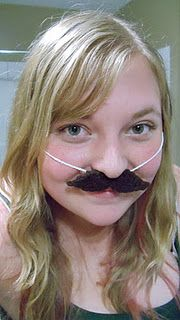 Ravelry: Mustache Necklace Disguise pattern by Courtney Wiche Learn To Crochet, Crochet For Kids, Easy Crochet, Crochet Toys, Free Crochet, Knit Crochet, Crochet Mustache Pattern, Crochet Patterns, How To Lighten Hair