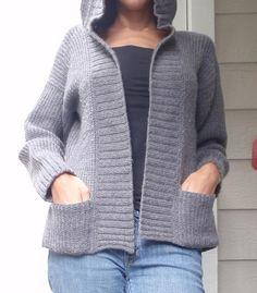 [Free Pattern] Knit - Hooded Jacket / Gracia