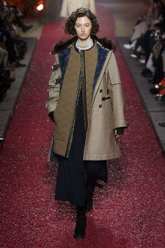 Hermes PFW AW18 Models walked through an enchanted Hermes garden during Paris Fashion Week - HarpersBAZAARUK