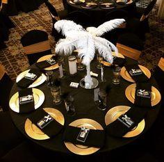 Distinctive Decor Rentals's Birthday / Great Gatsby - Photo Gallery at Catch My Party Great Gatsby Motto, Great Gatsby Theme, Gatsby Themed Party, 40th Birthday Parties, 50th Birthday Party, Gatsby Wedding, Birthday Ideas, 21st Party, Harlem Nights Theme