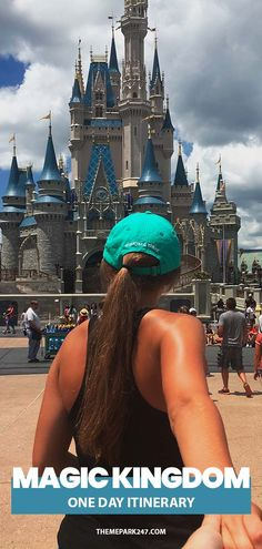 Many of us would love to spend many days across the parks of Walt Disney World but that isn't always possible. We have put together this Magic Kingdom Itinerary for those who are visiting the park for one day.   Magic Kingdom I Walt Disney World I Disney World I WDW I Walt Disney world tips I Disney World Planning Disney Vacation Planning, Orlando Vacation, Disney World Planning, Disney World Trip, Disney Vacations, Disney Trips, Trip Planning, Walt Disney, Disney Travel