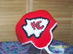 Crochet Pattern Kansas City Chiefs Afghan : 1000+ images about Crochet sports things on Pinterest ...