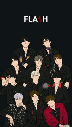 Flash Wallpaper, Locked Wallpaper, Tumblr Wallpaper, Lock Screen Wallpaper, Iphone Wallpaper, Love U Forever, Flower Boys, Kpop Fanart, My Sunshine