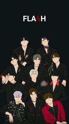 Flash Wallpaper, Locked Wallpaper, Tumblr Wallpaper, Screen Wallpaper, Iphone Wallpaper, Love U Forever, Flower Boys, Kpop Fanart, My Sunshine