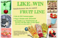 Facebook Like and Win action. Win one of the Fruit Line Gloves. Like KIXX safety and we will choose a winner at the end of this month! www.facebook.com/kixx safety