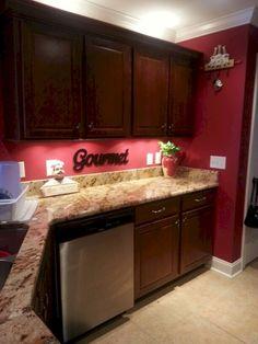20 Most Por Red Kitchen Wall Decoration Ideas