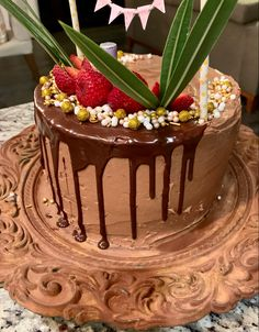 #birthday #chocolate #cake with #berries and #coconut syrup Caribbean Party, Coconut Syrup, Dark Chocolate Cakes, Private Chef, Mediterranean Dishes, Personal Chef, Home Chef, Whole Food Recipes, Celebrations