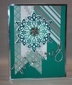Stampin' Up! - Festive Flurry and Winter Frost