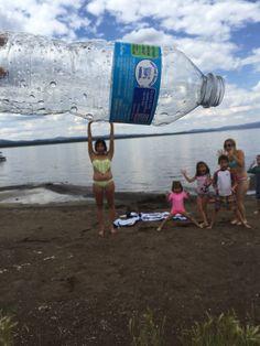 Fun beach photo