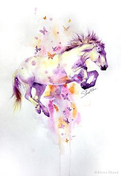 22 flying horse by ElenaShved.deviantart.com on @DeviantArt