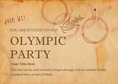 free design from pingg design. Invitation Design, Invitation Cards, Party Invitations, Invites, Event Themes, Party Themes, Party Ideas, Olympics Opening Ceremony, Tokyo Olympics