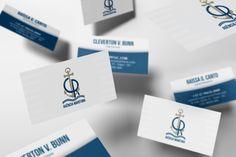 Logo e cartões de visita para CR Agência Marítima em Itajaí - SC.