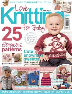 """Cover von """"Love Knitting for Baby Winter – DIY-Anleitung: Baby stricken Love Knitting, Kids Knitting Patterns, Baby Hats Knitting, Knitting Books, Knitting For Kids, Baby Patterns, Knitting Projects, Simply Knitting, Sweater Patterns"""