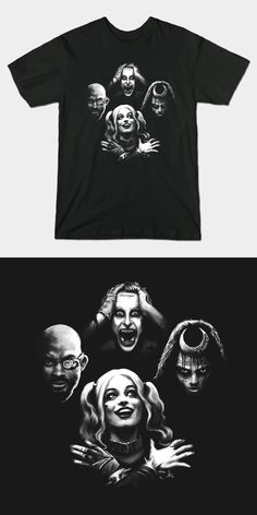 Suicide Squad Bohemian Rhapsody T Shirt | Harley Quinn and The Joker in the famous Queen pose.  | Visit http://shirtminion.com/2016/02/suicide-squad-bohemian-rhapsody-t-shirt/