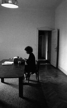 Margaret Atwood writing The Handmaid's Tale in Berlin, 1984