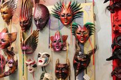 Our Masks in Ca Macana, Venice Paper Mache Mask, Mask Making, Trip Advisor, Masks, Halloween Face Makeup, Photo And Video, Reading, Pictures, Handmade