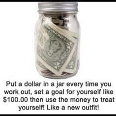 I like this idea, plus it gives me an excuse to make use of my growing collection of jars.