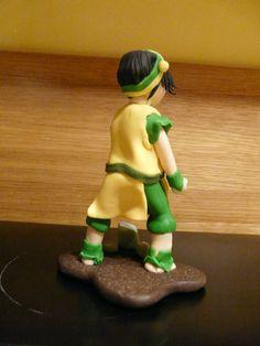 Awatar Legenda Aanga - Toph Bei Fong Gumpaste Fondant