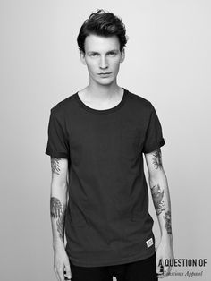 A QUESTION OF Pocket T-shirt #aquestionof #organiccotton #danielduring #tattoos