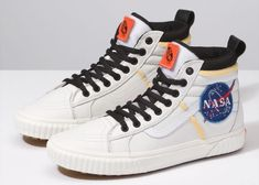 Vans X Space Voyager Sk8 Hi 46 MTE DX NASA Depop