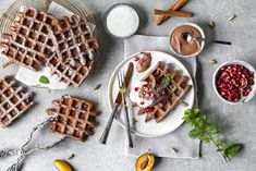 vegane belgische waffeln rezept belgische waffeln waffel und vegane. Black Bedroom Furniture Sets. Home Design Ideas