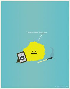 Minimal posters for Nerds in Love_13