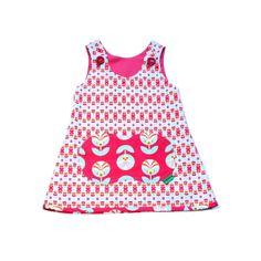 Dress Reversible. Sustainable fashion!! Premium Cotton by Kañika...exclusive and different fashion kids... Falda globo con algodón de primera calidad, por Kañika...moda de niños exclusiva y diferente! www.kanika.es