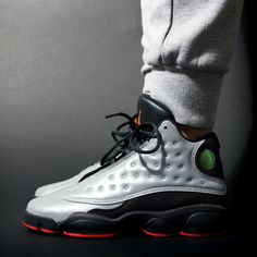 3M Air Jordan 13 fresh for the Fall with a nice pair of Joggers.