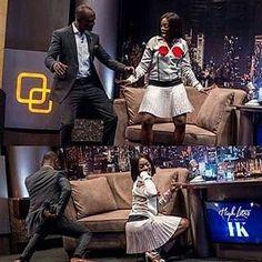 Welcome to Ele & Elis Blog: Tiwa Savage twerks on Ik Osakioduwa's show