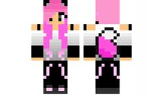 minecraft skin Pink-Rebel-Girl-fixed Find it with our new Android Minecraft Skins App: https://play.google.com/store/apps/details?id=the.gecko.girlskins