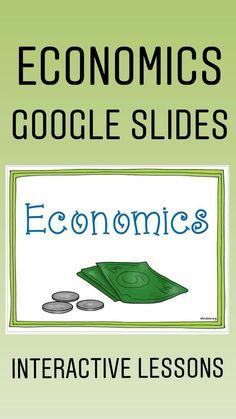 Teaching Economics, Economics Lessons, Economics Books, Teaching Social Studies, Teaching History, High School Hacks, Technology Lessons, Middle School English, Teacher Inspiration