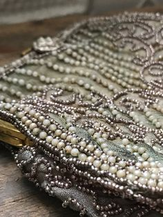 Jazz Age, Beaded Purses, Perfect For Me, Satin Fabric, Vintage Items, Sparkle, Pearls, This Or That Questions, Detail