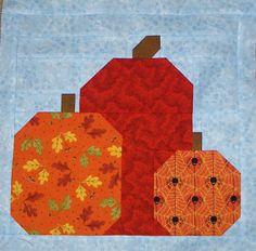 Apple Avenue Quilts: October's Blocks
