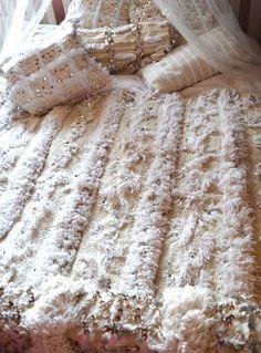 www.boutiquemaroc.co.uk Moroccan Wedding Blanket Handira