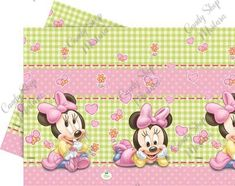 Baby Minnie Busta 1pz Minnie Mouse Table, Minnie Baby, Minnie Mouse Party, Mouse Parties, Hamster Treats, Cat Treats, Disney Babys, Shops, Baby Party