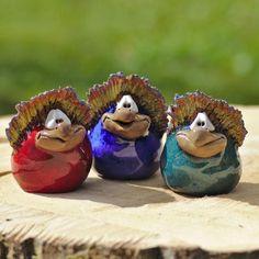 Vögel Fimo Clay, Polymer Clay Crafts, Hobbies And Crafts, Diy And Crafts, Raku Raku, Pottery Place, Beaded Christmas Ornaments, Fondant Figures, Embroidery Hoop Art