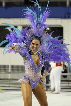 Beautiful purple Samba