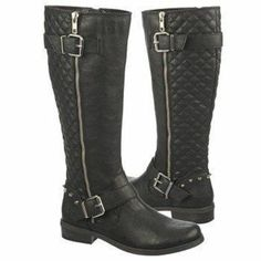 Fergalicious by Fergie - Slam size 8 Boots 2014 Trends, Studded Boots, Slammed, Riding Boots, Trunks, Footwear, My Style, How To Wear, Shopping