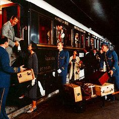 The Venice Simplon-Orient-Express    'The train against which all other luxury trains are measured' - Vanity Fair