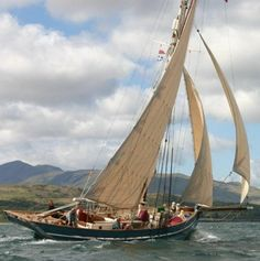 Luke Powell Isles of Scilly pilot cutter