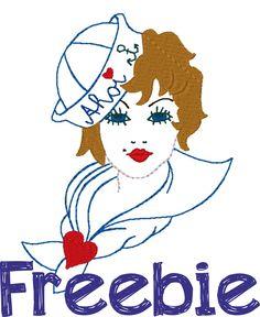 Freebie - Stickdatei von Mrs.de-elfjes <3