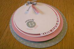 Wedding invitations so cute ! Silhouette Curio, Silhouette Portrait, Faire Part Diy, Faire Part Invitation, Invitation Ideas, Pink Grey Wedding, Kirigami, Communion, Bridal Shower