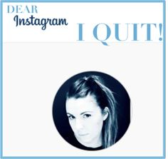 Instagram, Social Media, I quit, Quitting, words on social media behaviour - MOM4MOM