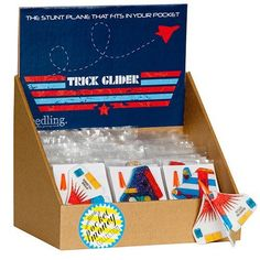 Trick Glider by Seedling.com Foam toy .99 cents stocking stuffer Easter basket kids gift