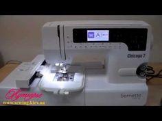 BERNINA Bernette Chicago 7 видео обзор - YouTube